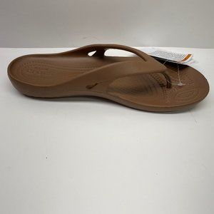 Crocs Size 9 Brown Sandals New Womens Shoes